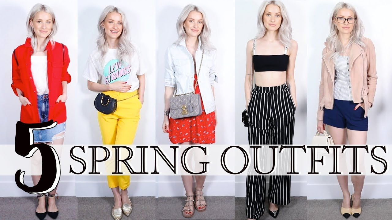 FIVE NEW-IN CASUAL SPRING OUTFITS   Inthefrow