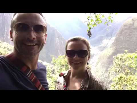 Walk to Aguas Calientes from Machu Picchu