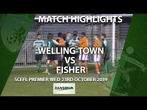 HIGHLIGHTS - Welling Town 0-0 Fisher From The SCEFL Premier On Weds 23rd October