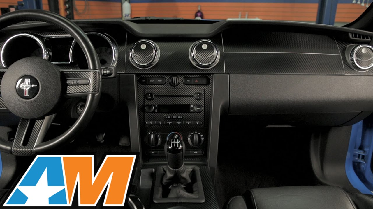 Mustang Carbon Fiber Dash Overlay Kit 05 09 All Review