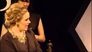 adele   ivor novello awards may 17th 2012