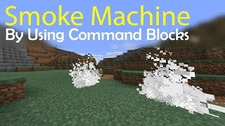 How to make a white smoke machine in Minecraft PE (Command blocks trick)