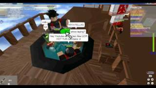 roblox hot tub partie ....