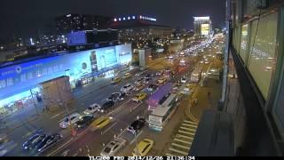 忠孝西路公車專用道拆除_縮時攝影紀錄_TimeLapse_20141226