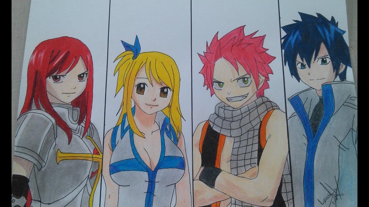 Desenhando Fairy Tail,...