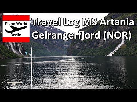 Travel Log | MS Artania Phoenix Reisen | Geirangerfjord (NOR)