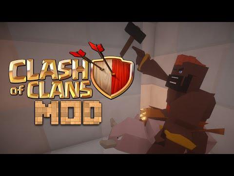 Minecraft Mod 1.7.10 : CLASH OF CLANS - VOIDWRATH OFFICIAL - ITA
