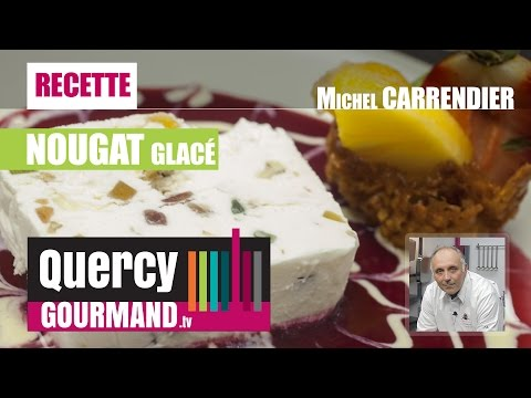 Recette : Nougat glacé – quercygourmand.tv