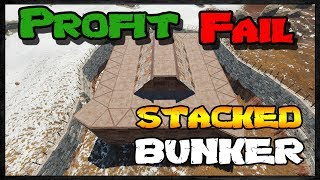 RAIDING STACKED BUNKER BASE  - Profit or Fail #37 | Rust Raids
