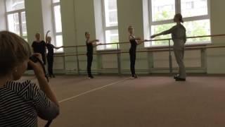 Открытый урок хореографии в художественной гимнастике часть 1