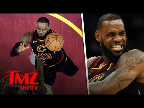 Space Jam 2 With LeBron Gives A First Glimpse!  TMZ TV
