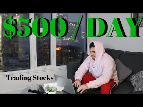 How To Make $500+ Day Trading Stocks From Home (The Zed Monopoly Trading Strategy)