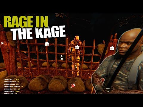 RAGE IN THE KAGE | The Forest | Let's Play Gameplay | S14E29