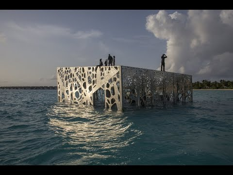 The Sculpture Coralarium: The world's first semi-submerged tidal art gallery