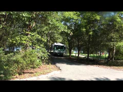 Seven Points Campground in Nashville TN next to J. Percy Priest Lake