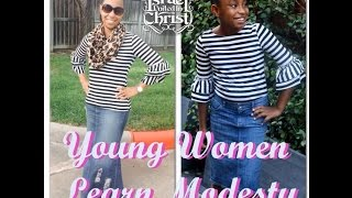 The Israelites: Young Women Learn Modesty