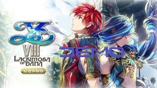 ys viii lacrimosa of dana イース viii lacrimosa of dana ps4 full demo gameplay