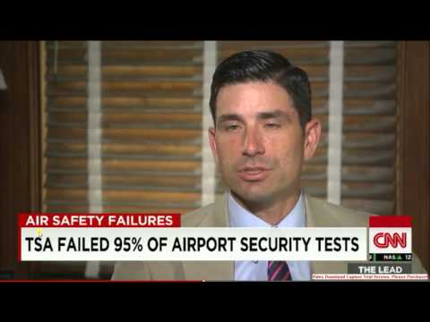 TSA Fails 95% of Airport Security Tests
