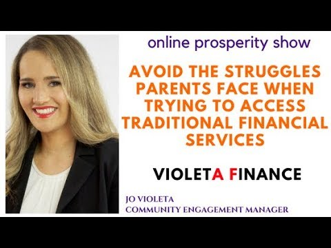 Avoid the struggles parents face when trying to access traditional financial services