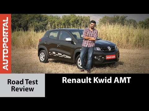 Renault Kwid Easy-R AMT Test Drive Review - Autoportal