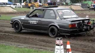 Carpulling Made bmw Trouble Maker autotrek 1ste plaats