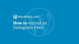 WordPress Tutorial: How to Display Your Instagram Feed on Your Website