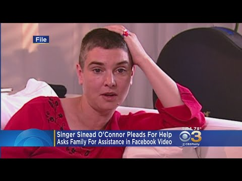 Singer Sinead O'Connor Pleads For Help