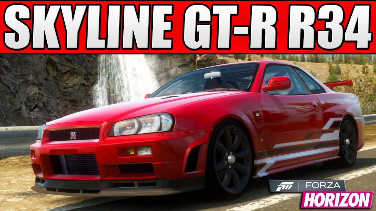 Nissan Gtr Custom >> Forza Horizon - Custom Cars - #1 1,000BHP Nissan Skyline ...