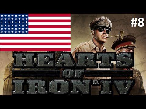 Hearts of Iron 4 USA 8 Marine Invasions