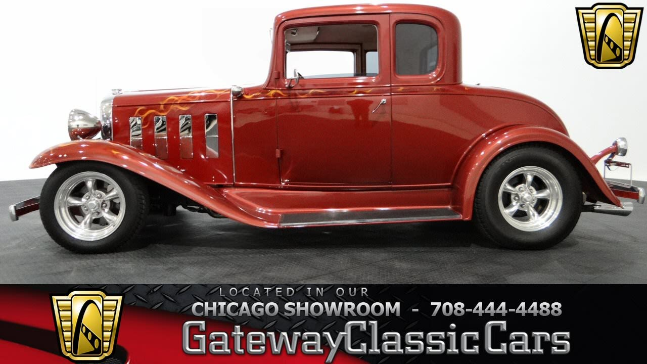 1932 chevrolet 5 window coupe gateway classic cars chicago for 1932 chevrolet 5 window coupe