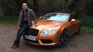 Bentley Continental GTC V8 : Car Review