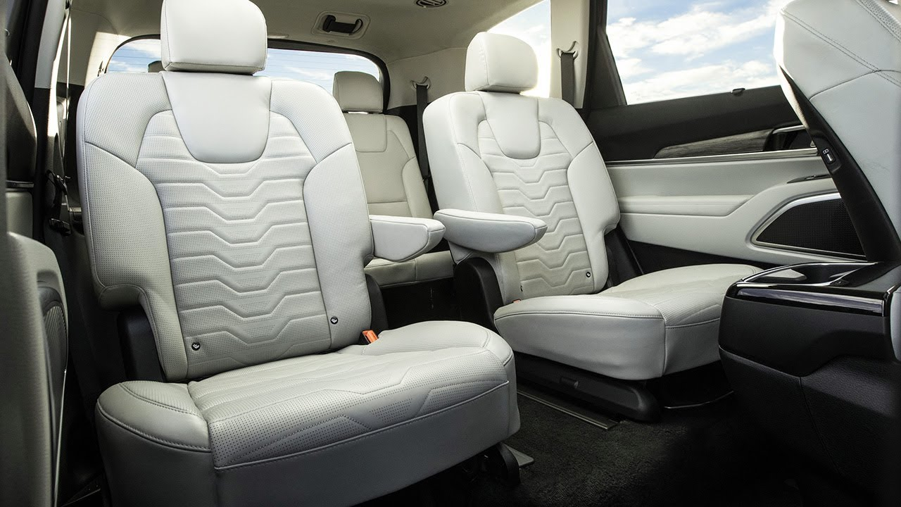 8 Seat 3 Row 2020 Kia Telluride Interior Youtube