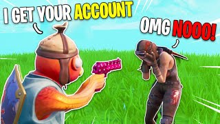 I BEAT a RENEGADE RAIDER for His FORTNITE ACCOUNT...