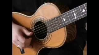 Delta Blues on a couple of 1907 LEVIN parlor guitars - (Part 6) Open & Standard tuning.