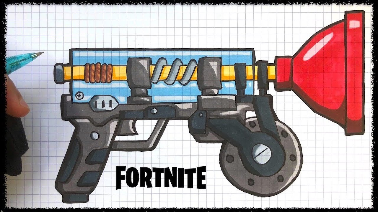 How To Draw Grapper Fortnite