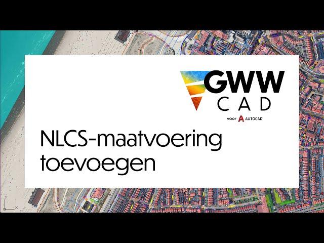 GWW-CAD: Maatvoering toevoegen