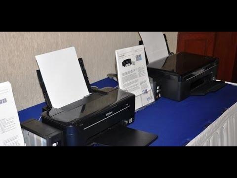 Epson Printer L 100 Tombol Resume Blinking Youtube