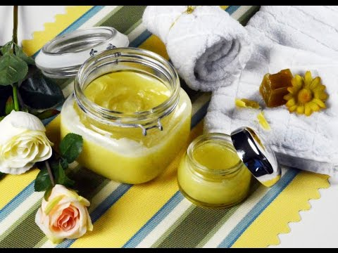 How to make hand and body lotion using beeswax