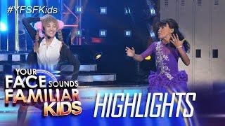 Your Face Sounds Familiar Kids: Awra, di nagpahuli sa dance moves ni AC