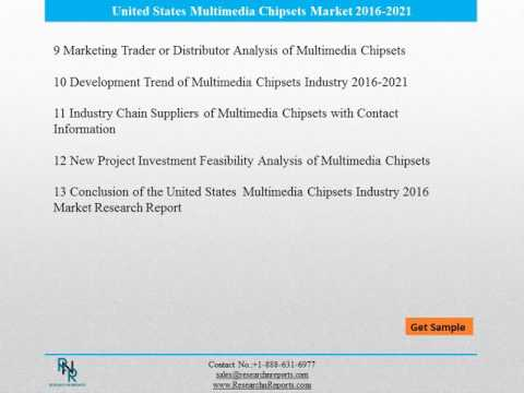 United States Multimedia Chipsets Market Reports Analysis to 2021 and Analysis