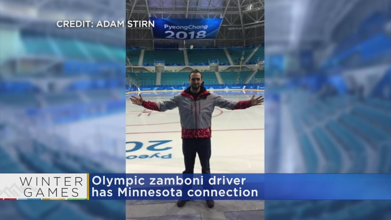 Meet The Olympics' Zamboni Driver