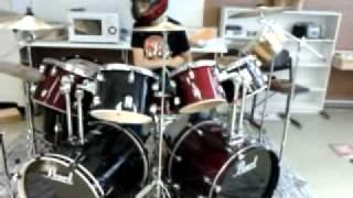the vortex training room mixer drumming