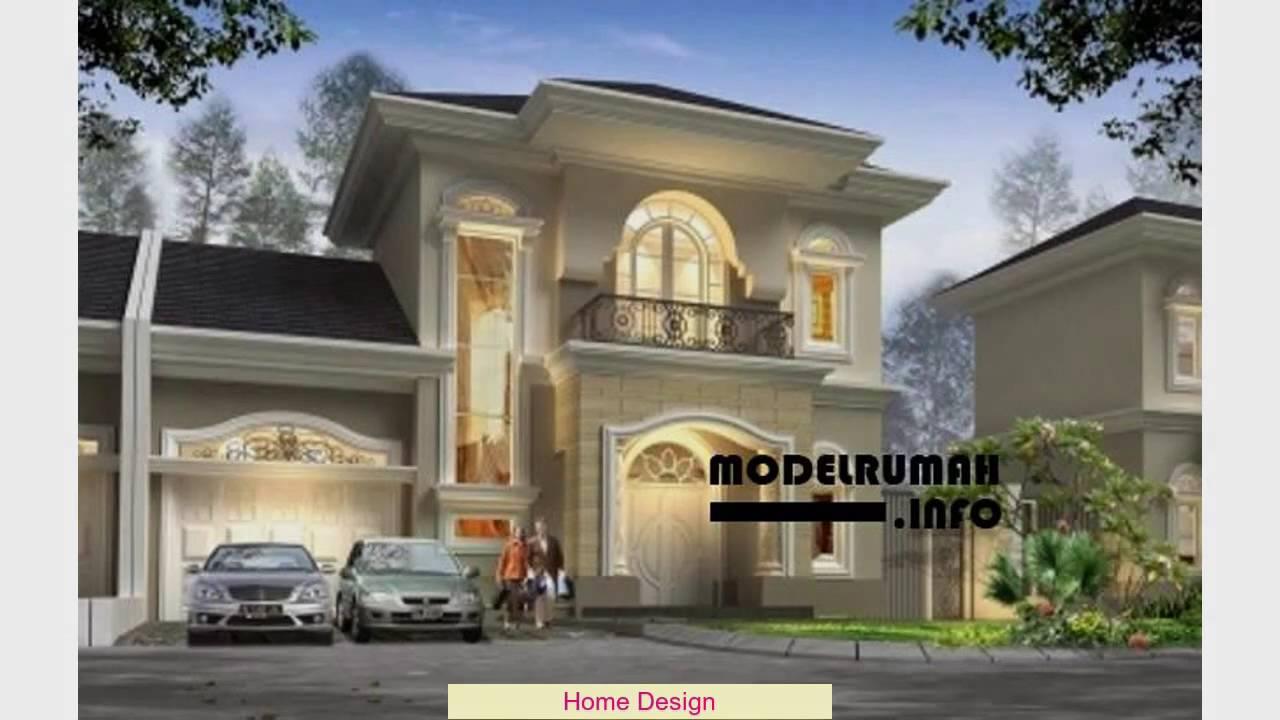 Ide Foto Desain Rumah Klasik Modern Terkeren  Kampong Desain