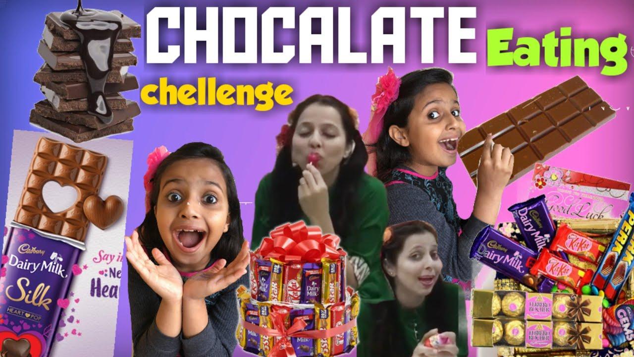 Download vaidehipihu show new video 'Chocalate eating Challenge|mom vs me