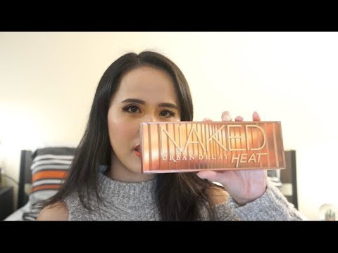 Urban Decay Naked Heat Eye Makeup Tutorial