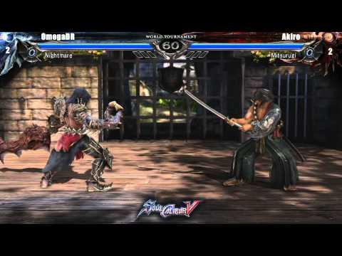 Grand Final OmegaDR vs Akire - $10k SoulCalibur V World Tournament
