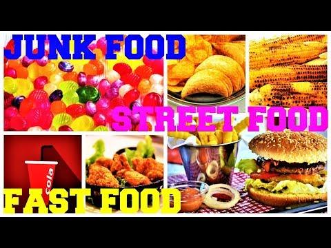 Fast Food, Junk Food & Street Food