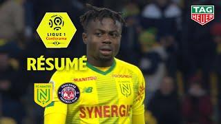 FC Nantes - Toulouse FC ( 2-1 ) - Résumé - (FCN - TFC) / 2019-20