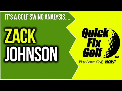 Golf Swing Video Analysis Zack Johnson