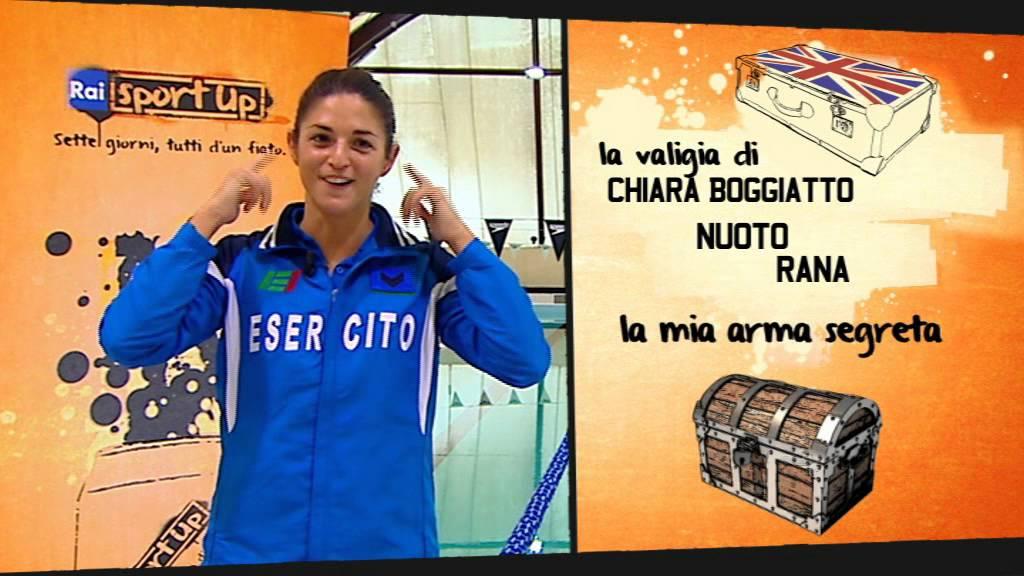 """Chiara Boggiatto - Sport Up """"Una valigia per Londra"""" - RAI ..."""